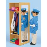 Dress Up Clothes / set of 5 (wood unit not included)