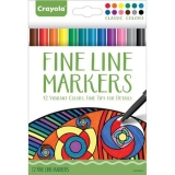 12 ct Fine Markers - Classic