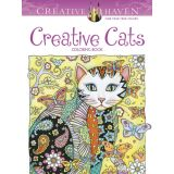 Creative Cat Designs Coloring Book