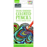 12 ct Dual Ended Colored Pencils
