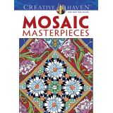 Mosaic Masterpieces Coloring Book