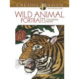 Wild Animal Portraits Coloring Book