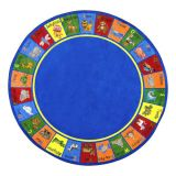Animal Phonics - Round (7'7 Diameter