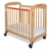 First Responder™ Evacuation System Fixed-Side Crib with 3 Professional Series™ Mat