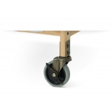 Evacuation Casters for SafetyCraft® Cribs