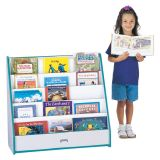 Pick-A-Book Stand Flushback (Blue)