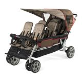 LX6™ Six Child Stroller - Earthscape