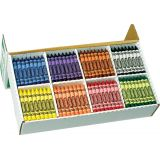 Crayola® Classpack Crayons - Large Size (400 Pk, 8 Colours)