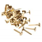 Brass Paper Fasteners -  10mm(100 pack)