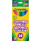 Crayola®  Coloured Pencils (24 Pk)