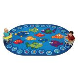 Fishing for Literacy - Oval (3'10x5'5)