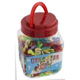 Alphabet Bead Mix In A Jar (300 Pieces)
