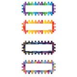 Magnetic Name Plates - Pixels And Dashes (Set of 16)