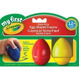 3 Easy-Grip Egg-Shaped Crayons