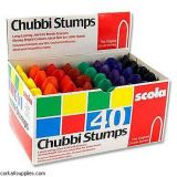 Chubby Crayons - Box of 40