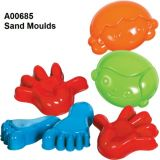 Essential Sand and Water Tools - Sand Moulds