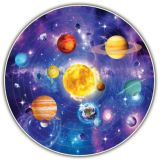 Solar System Puzzle With Poster