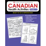 Canadian Health Activities - Grades 1-3
