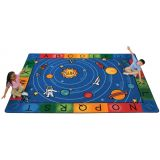 Milky Play Literacy Rug 5'10 x 8'4