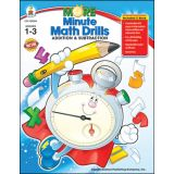 More Minute Math Drills - Grades 1-3