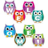 Colourful Owl Welcome Bulletin Board Set
