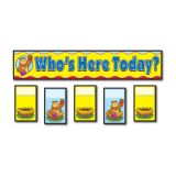 Attendance/Multi-use Pocket Chart - Replacement Cards