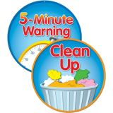 Clean Up/5 Minute Warning Two-Sided Decoration