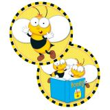 Buzz-Worthy Bees Two-Sided Decoration