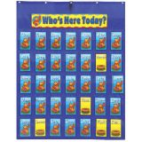 Attendance/Multi-use Pocket Chart - Pocket Chart