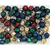 Jingle Bells - Multicolour 15mm (100 Pk)