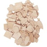 Wooden Shapes - 350 Pk