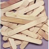 Jumbo Craft Sticks - Natural (500/pk)