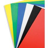 Foam Sheets (12x18) - Assorted Colours (10/pk)