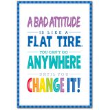 A Bad Attitude Is - Inspire U Poster