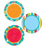 Dots on Turquoise Dots 3 Designer Cut-Outs