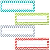 Chevron Solids Name Plates (36/pk)