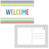 Chevron Welcome Postcards