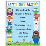 Woodland Friends Let's Get Along Chart