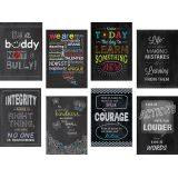 Chalk Posters Inspire U (8-Poster Pack)