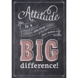 Attitude is a Little Thing - Inspire U Poster