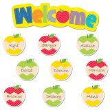 HexaFun Welcome Apples Mini Bulletin Board Set