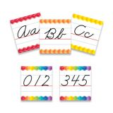 Cursive Handwriting Alphabet Line Bulletin Board