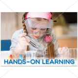 Hands on Learning (Science girl)