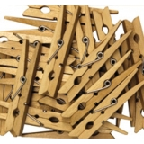 Clothes Pins Wooden (50/pk)