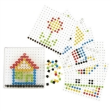 Bead Do (Bead Peg Play) - 129 Pieces