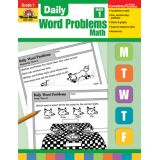 Daily Word Problems - Grade 1