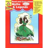 Read and Understand: Myths and Legends, Grades 4-6