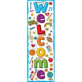 School Doodles Welcome Classroom Banner