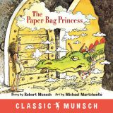 Robert Munsch - Paperback Book - Paper Bag Princess