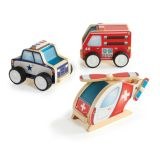Community Vehicles Jr. Plywood (Set of 3)